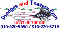 Dredges and Teasers Light Up the Rip