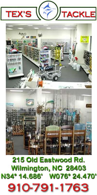 Full Service Fishing Tackle Dealer Serving Wilmington NC